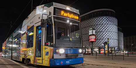 Partytram Aktionsangebote